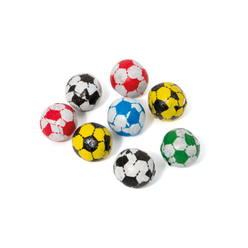 Large Pouch Chocolate Footballs