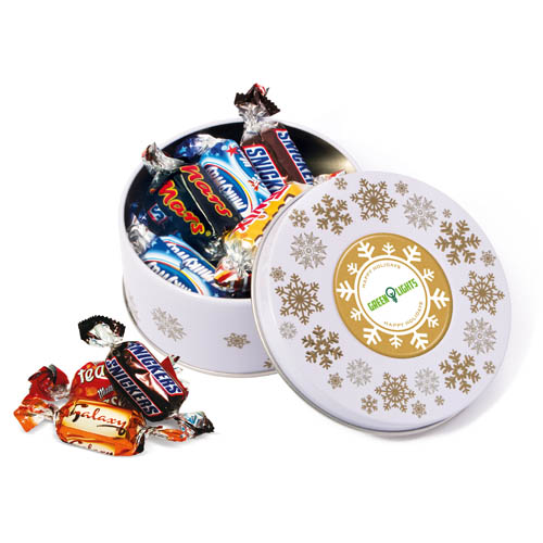 Winter Collection 16 Treat Tin Celebrations