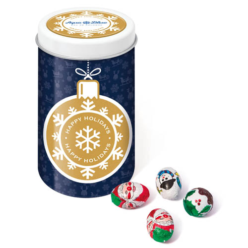 Winter Collection 16 Snack Tin Foil Wrapped Chocolates