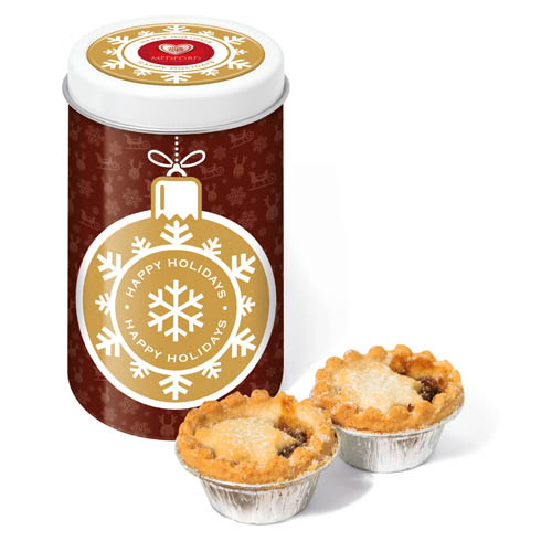Winter Collection 16 Snack Tin Mince Pies