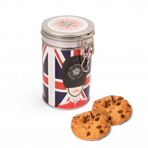 Flip Top Tin - Silver - Maryland Cookies