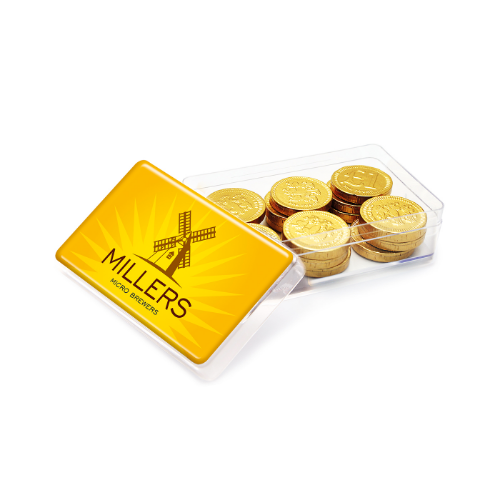 Maxi Rectangle Chocolate Coins