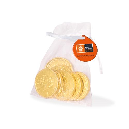Organza Bag Chocolate coins