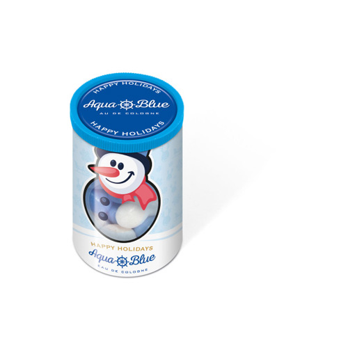 Christmas Clear Tube Mini Snowballs