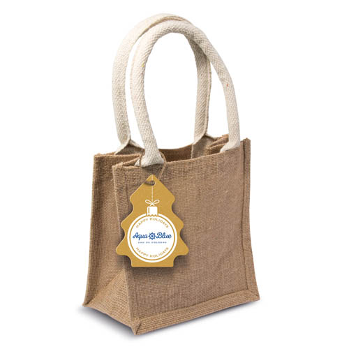Winter Collection 16 Jute Tag Bag