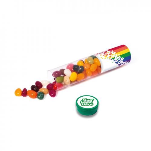 Clear Tube Maxi The Jelly Bean Factory Beans