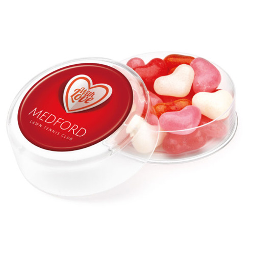 Maxi Round Heart Shaped Gourmet Jelly Beans