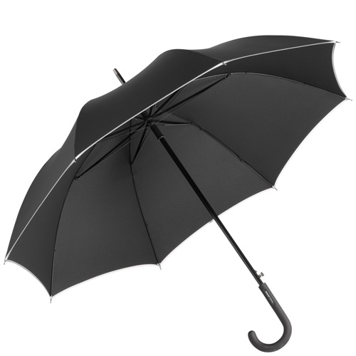 AC Alu Midsize Windmatic Black Edition Umbrella
