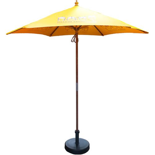 2.5m Wooden Parasol