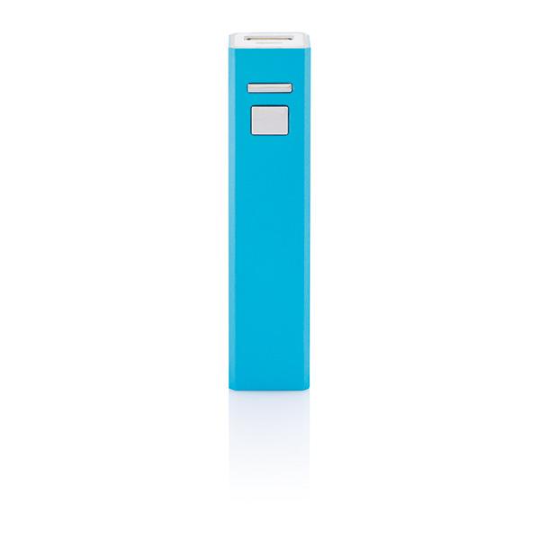 2.200 mAh backup battery, turquoise