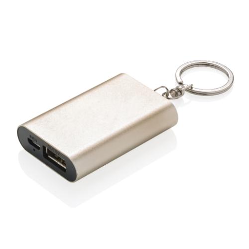 Keychain powerbank, gold
