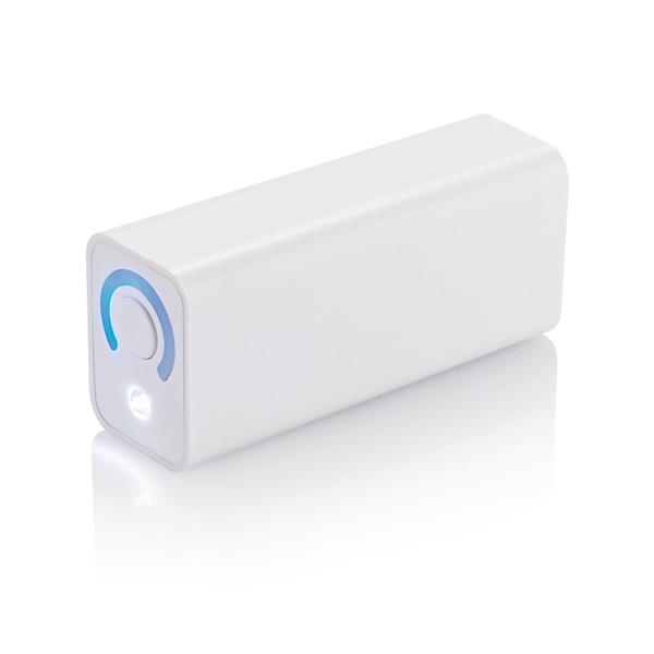 3.000 mAh powerbank Samsung battery, white