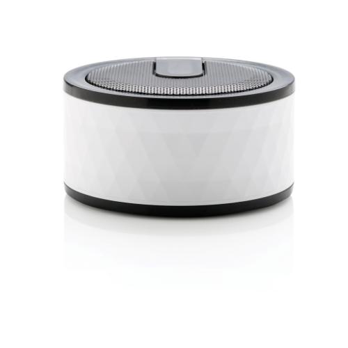 Geometric wireless speaker, white