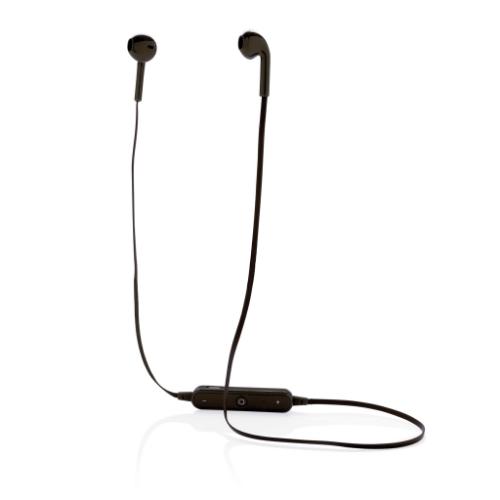 Wireless earbuds in pouch