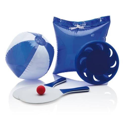 Summer game set, blue
