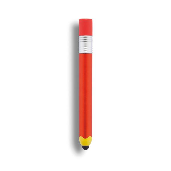 Pencil shaped touch pen, orange