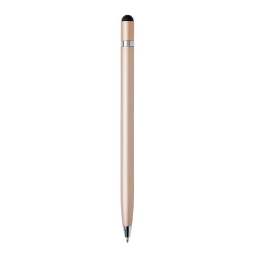 Simplistic metal pen, gold