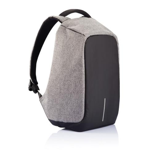 Bobby anti-theft backpack, grey