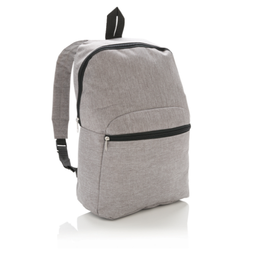 Classic two tone backpack, light grey