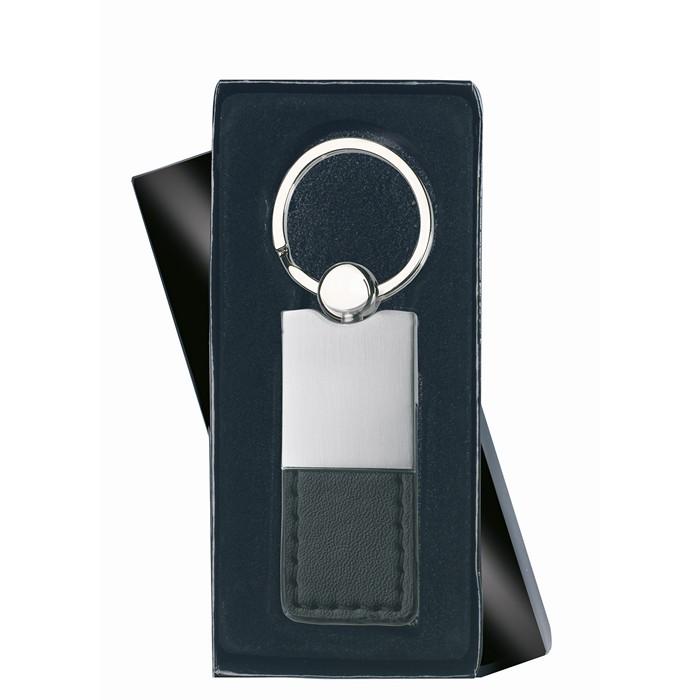 Personalised PU and metal key ring