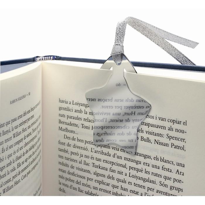 Custom Corporate bookmarks,charity giveaways Star shape bookmark