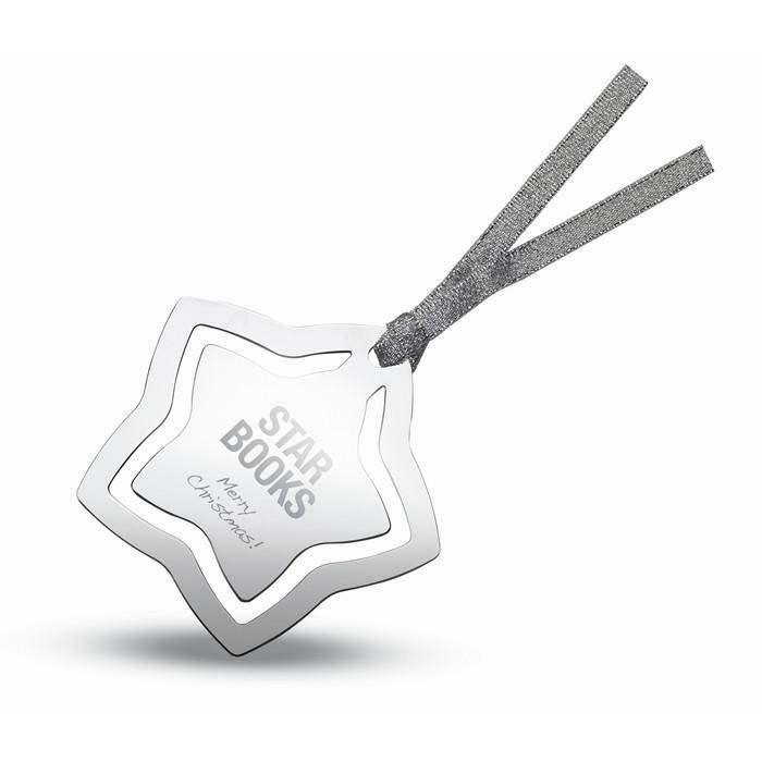 Printed Star shape bookmark
