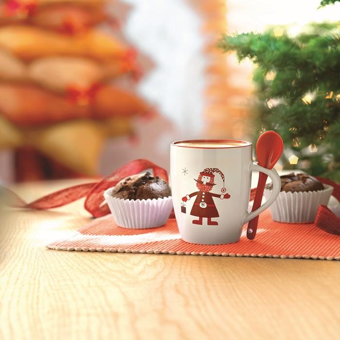 Promotional Mug with spoon