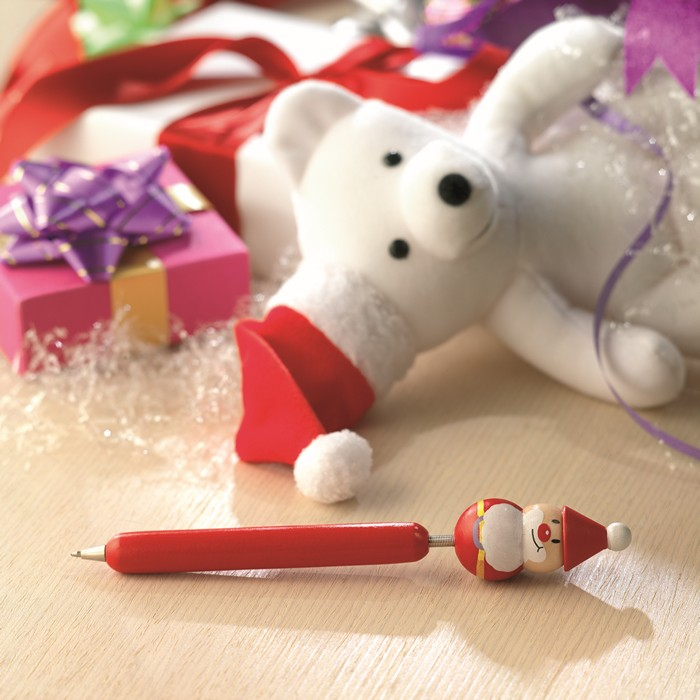 Promotional Ball pen with Xmas motifs