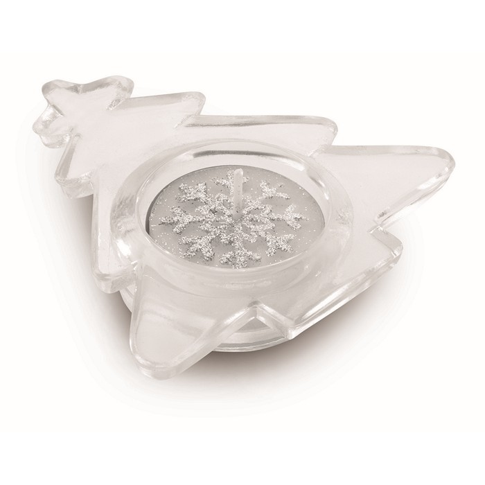 Promotional Set of 3 glass candle holders