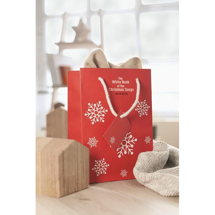 Branded Gift paper bag medium