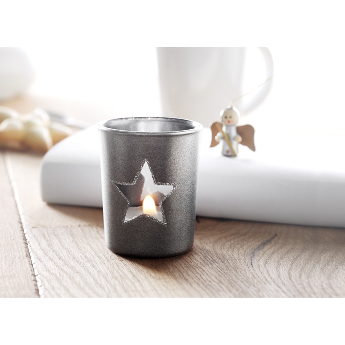 Embellished Candle holder with tealight