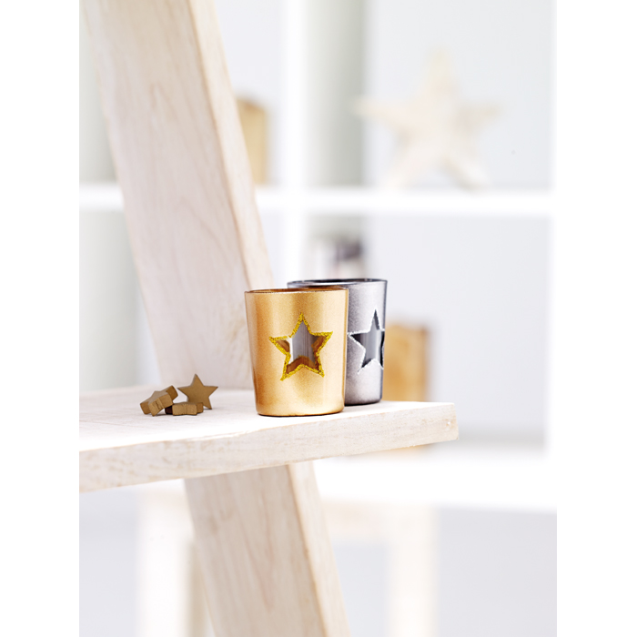 Branded Candle holder with tealight
