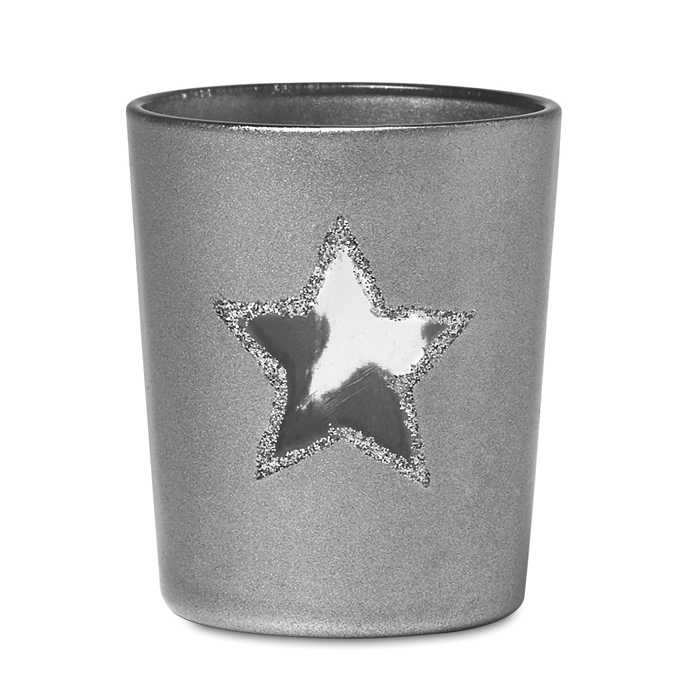 Branded Corporate candles Candle holder with tealight