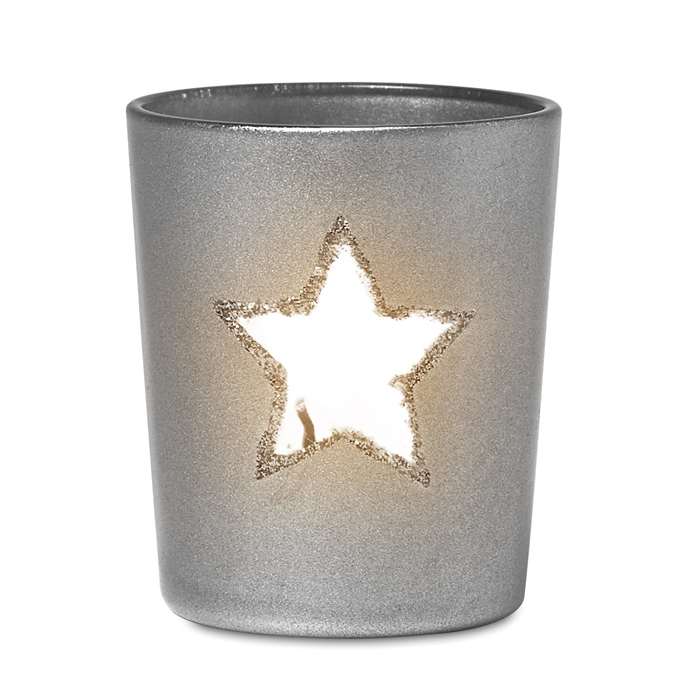 Branded Promotional candles Candle holder with tealight