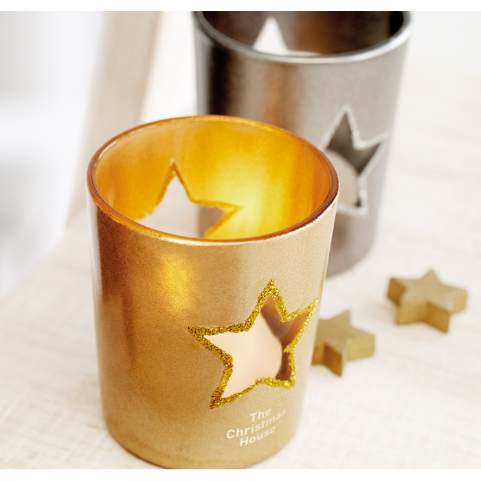 Corporate Candle holder with tealight