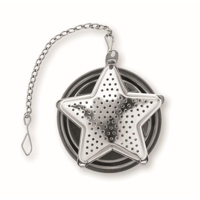 Printed Tea filter in star shape