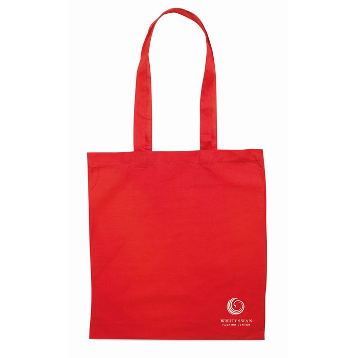 Branded Personalised shopping bags Shopping bag w/ long handles