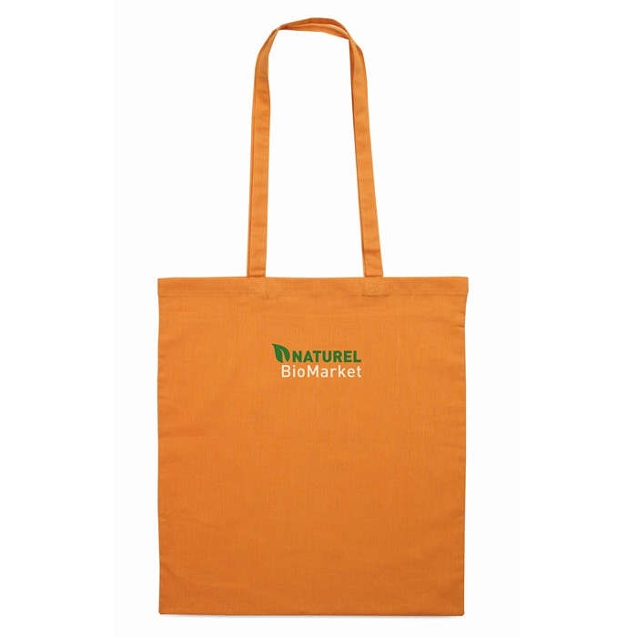Branded Promotional shopping bags Shopping bag w/ long handles