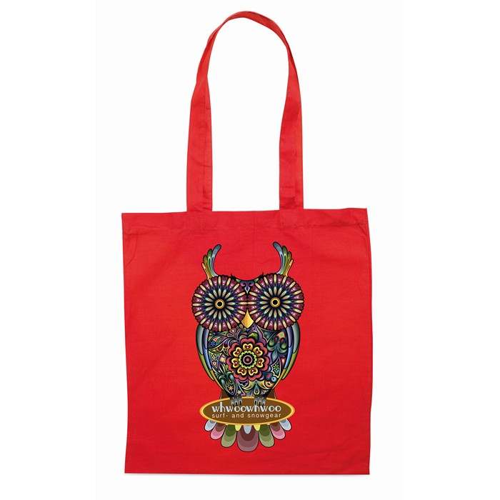 Personalised Shopping bag w/ long handles