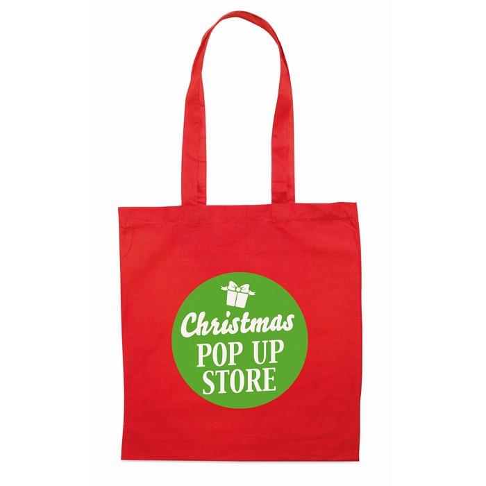 Corporate Shopping bag w/ long handles
