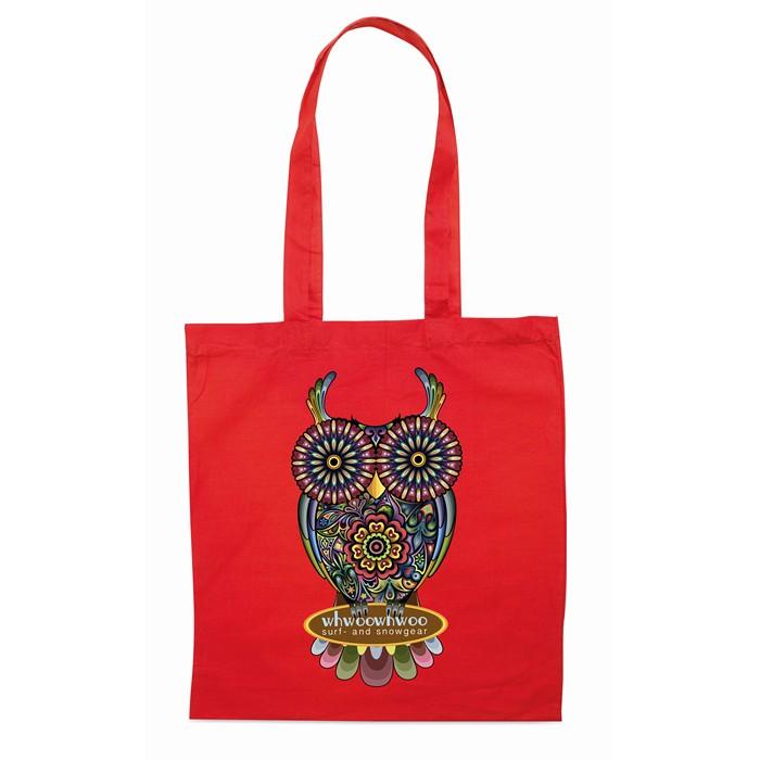 ImPrinted Shopping bag w/ long handles