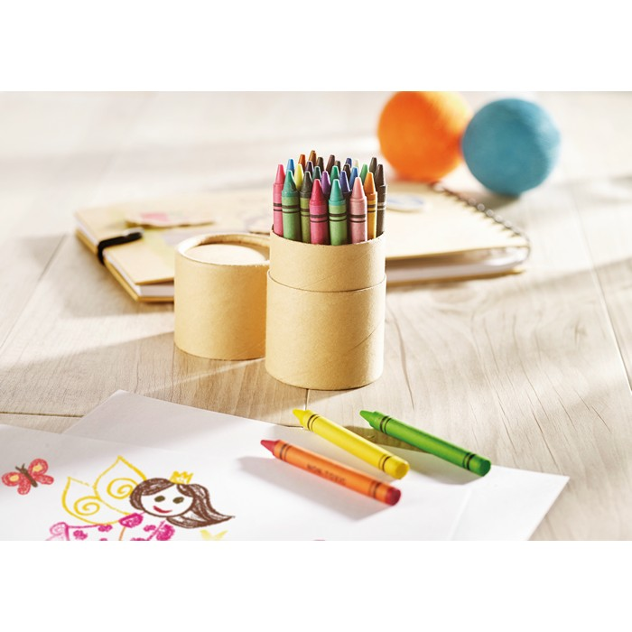 Promotional 30 wax crayons