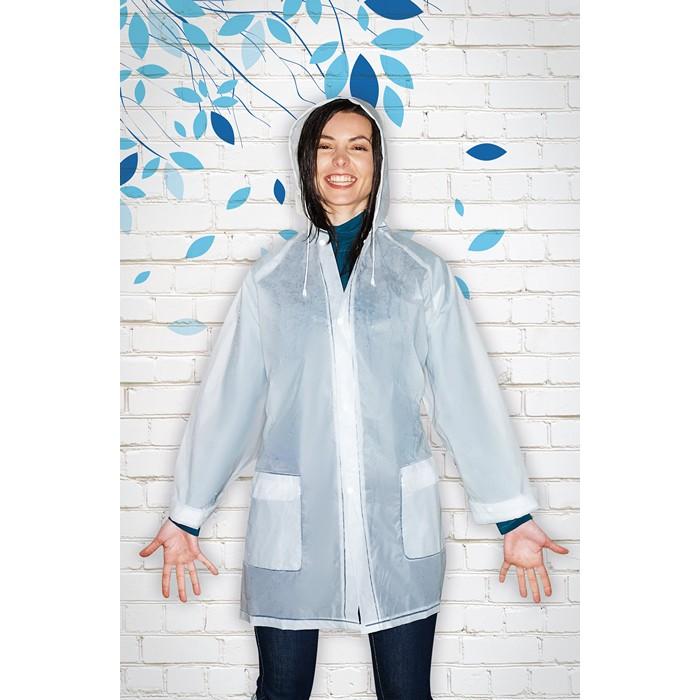 Corporate PEVA raincoat