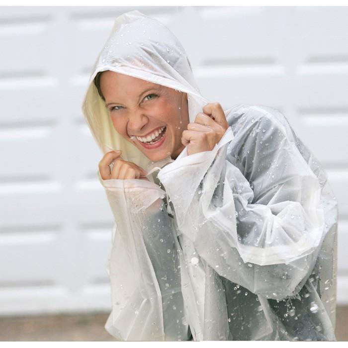 ImPrinted PEVA raincoat