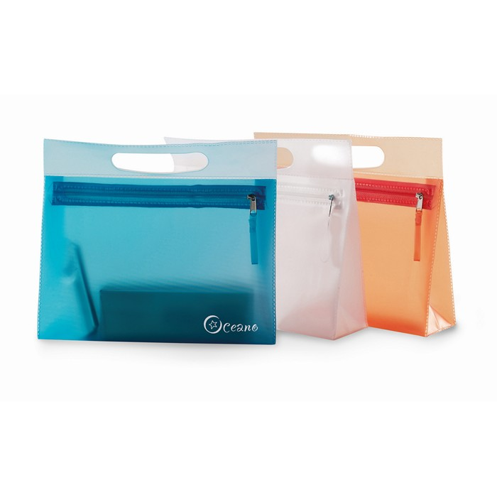 Promotional Transparent cosmetic pouch