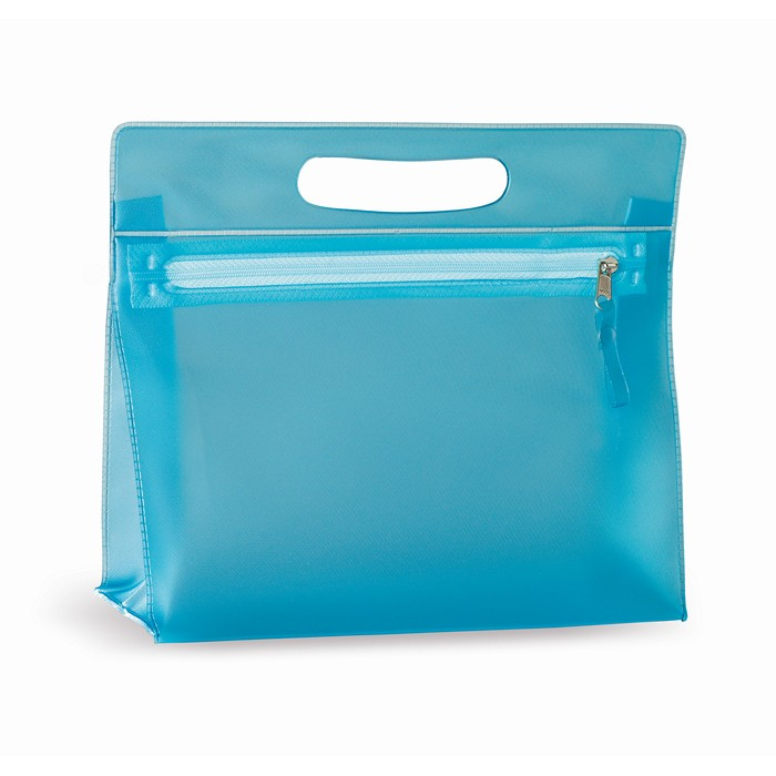 Branded Transparent cosmetic pouch