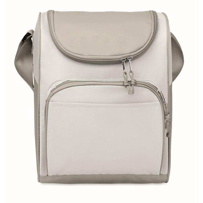 Branded Cooler bag with front pocket