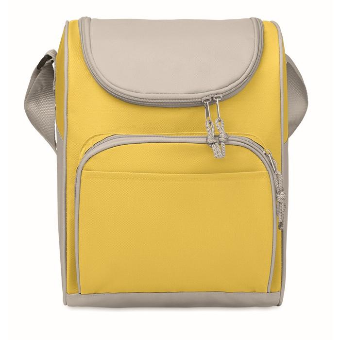 Printed Cooler bag with front pocket