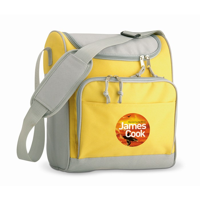 Personalised Cooler bag with front pocket