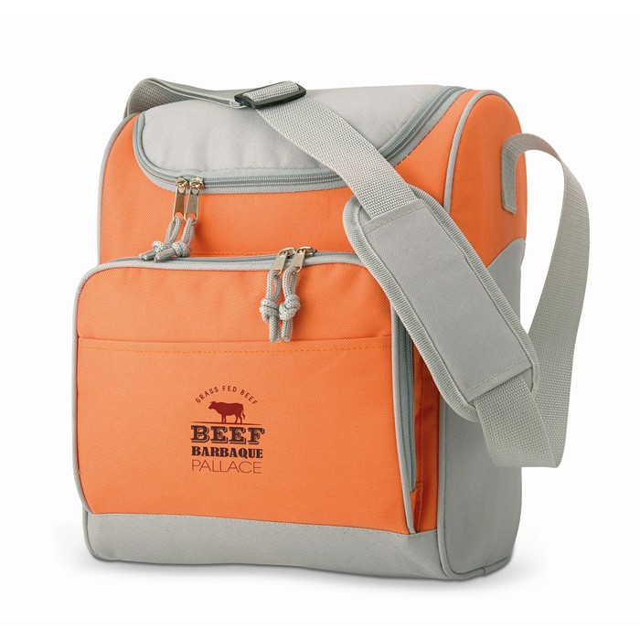 Corporate Cooler bag with front pocket